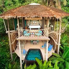three house treehouse villas home