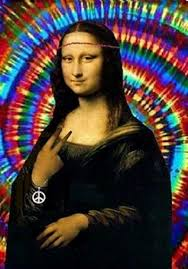 Hippie Woman Meme - monalisa hippie pesquisa google mil faces de gioconda mona