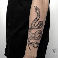Snake Forearm - 60 snake ideas and design
