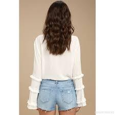 light wash denim shorts light wash denim shorts distressed denim cutoff shorts