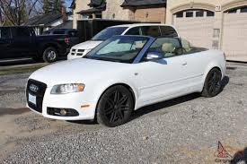 white audi a4 convertible for sale a4 2 0t s line navi convertible