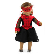 aliexpress com buy 18 inch doll dress spiderman cosplay american