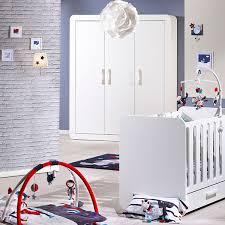 chambre astride sauthon chambre bébé duo astride blanc 2 éléments lit et armoire 3 portes