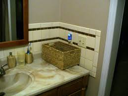 Easy Bathroom Ideas by Bathroom Vanity Backsplash With Shelf Bathroom Vanity Backsplash