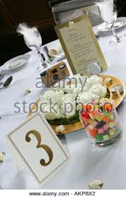 Wedding Breakfast Table Decorations Typical Modern Wedding Reception Breakfast Table Decorations With