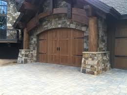 Full View Exterior Glass Door by Custom Made Garage Doors By Central Oregon Garage Door In Bend Oregon