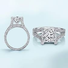 princess engagement rings the appeal of princess cut engagement rings the