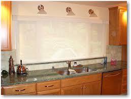 Window Treatments In Kitchen - blind alley casual window treatments portfolio