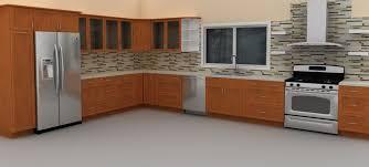 Beautiful Backsplashes Kitchens by Outstanding Ikea Inspired Backsplash Tile Design With L Shape