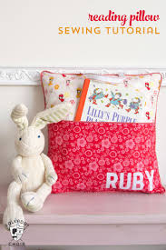 Sewing Patterns Home Decor How To Sew A Reading Pillow Reading Pillow Sewing Patterns And