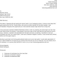college football coach cover letter