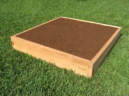 Cedar Raised Garden Bed 4x4 Raised Garden Bed 4x4 Cedar Bed Garden In Minutes