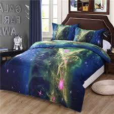 Space Bed Set 3d Galaxy Bedding Set Outer Space Bed Set Size Factory