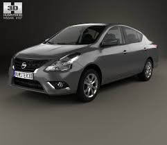 nissan tiida 2015 sedan nissan versa sense with hq interior 2015 3d model hum3d