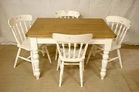 Shabby Chic Dining Table And Chairs Shabby Chic Table Ohio Trm Furniture