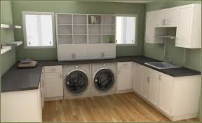 laundry room in kitchen ideas kitchen terrific u shaped white wood kitchen laundry cabinet