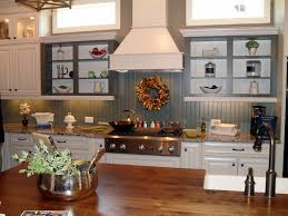 Beadboard Backsplash Kitchen Beadboard Kitchen Cabinets Country
