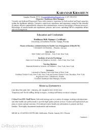 office administrator curriculum vitae