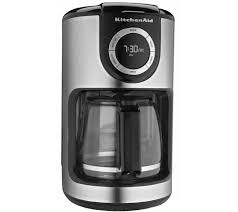 Coffee Maker With Grinder And Thermal Carafe Kitchenaid 12 Cup Glass Carafe Coffee Maker Page 1 U2014 Qvc Com