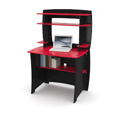 Small Black Computer Desk Furniture Black Glass Desk With Drawers Mission Computer Desk