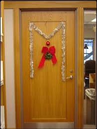 Christmas Office Door Decorations Simple Christmas Door Decorations Christmas Office Door Decorating
