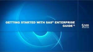 getting started with sas enterprise guide trending sas video