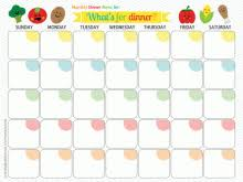 lunch calendar template 100 images preschool snack menu ideas