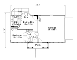 traditional home plans cottage style house plan 1 beds 1 00 baths 588 sq ft plan 57 320