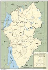 Map Of Uganda In Africa by East Africa Living Encyclopedia
