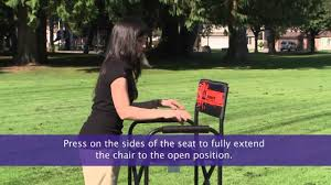 Gci Outdoor Pico Arm Chair How To Set Up An Impact Director U0027s Chair Youtube