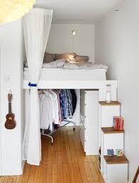 meuble gain de place chambre diy déco lit avec rangement à faire avec 3 fois rien room