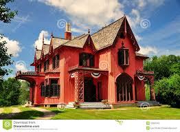woodstock ct 1846 roseland cottage stock photos image 32381243