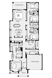 narrow lake house plans narrow house with possible open floor plan for the home