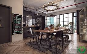 23 Dazzling Dining Room Designs Decorating Ideas Industrial Style Dining Room Design The Essential Guide
