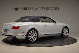 bentley convertible 2018 2018 bentley continental gt timeless series stock b1325 for sale