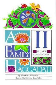 family haggadah a family haggadah ii by shoshana silberman
