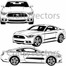 logo ford vector ford mustang outline cars9 info