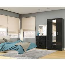 Lea Girls White Bedroom Furniture Birlea Lynx Black Bedroom Furniture Big Savings On Birlea
