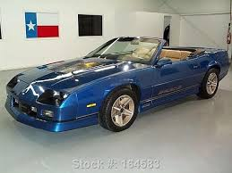 1992 camaro z28 convertible for sale find used 1987 chevy camaro z28 iroc z convertible alloys 33k mi
