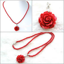 natural coral necklace images 2018 natural red coral necklace with carved pendant pocket small jpg