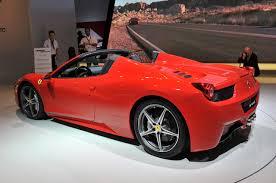 2011 458 italia specs 458 spider and reviews autoblog