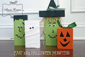easy halloween crafts halloween monsters a quick and easy diy project diy home decor