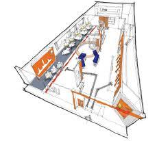 itau banco floor plan the financial brand branch showcase wine bar virgin money ipad kiosks