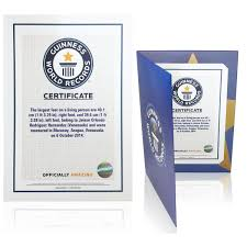 Blanket Certification Letter The Guinness World Records Store Certificates