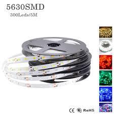 blue led strip lights 12v 5m 5630 flexible led strip light 12v dc 300 leds not waterproof