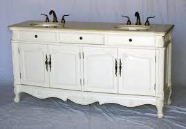 Bathroom Vanities Antique Style 70 Inch Sink Antique Style Bathroom Vanity Antique White