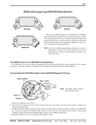 msd wiring gm wiring diagram simonand