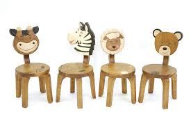 chaise enfant bois teck home mobilier