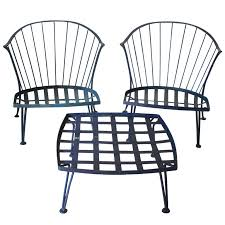 Retro Patio Furniture For Sale by Set Of Woodard Pinecrest Outdoor Furniture Wrought Iron Iron