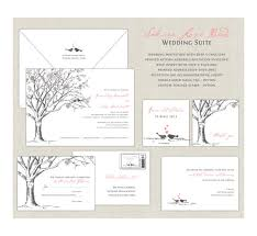 Cherry Blossom Wedding Invitations Love Birds Wedding Invitations Elegant Wedding Cherry